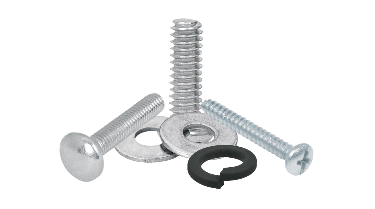 Bolts, Screws, Washers and Rods
