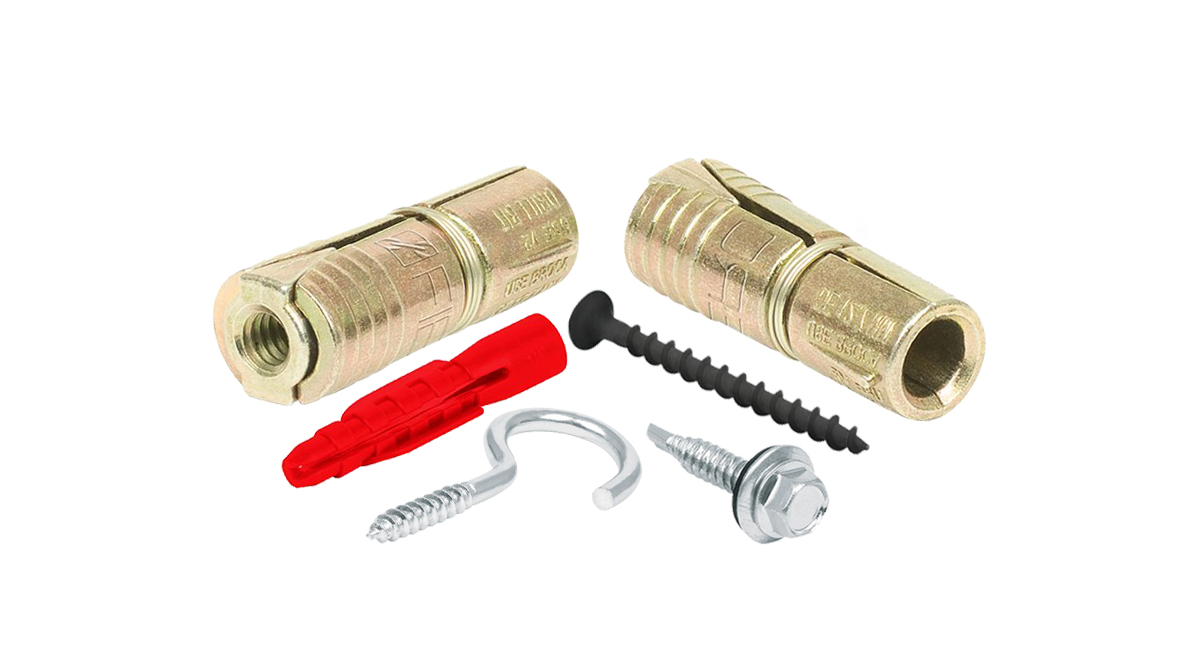 Screws, Anchors, Eye Bolts and Hooks