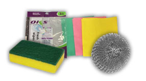 Scrubbers, Sponges & Cloths