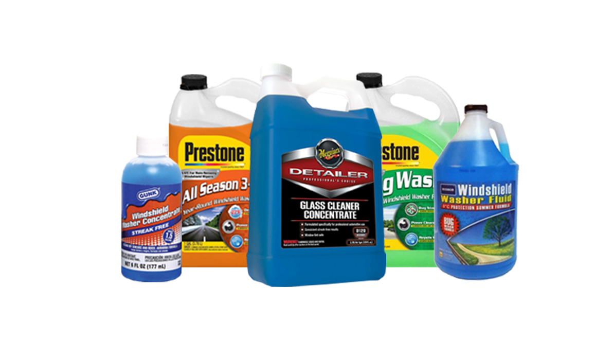 Windshield & Glass Cleaners