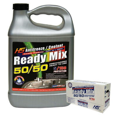Antifreeze and Coolant, Ready Mix 50/50 1 Gallon Hs