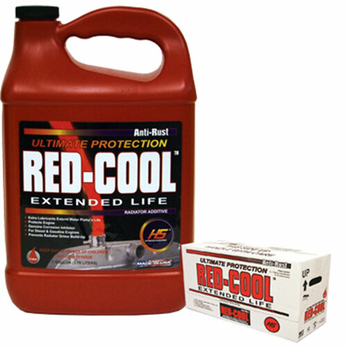 Coolant, anti-rust red-cool 1 gallon Hs