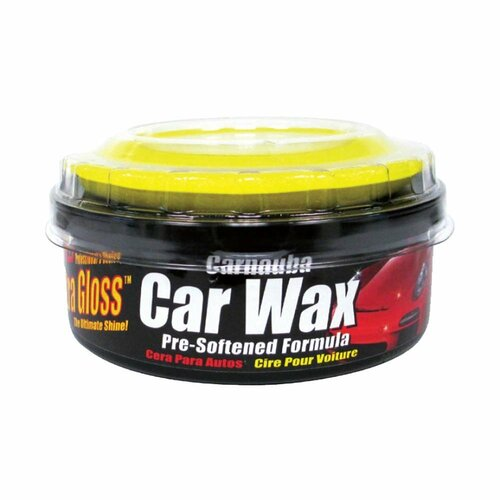 Carnuba car wax with applicator 10 oz  Ultra Gloss