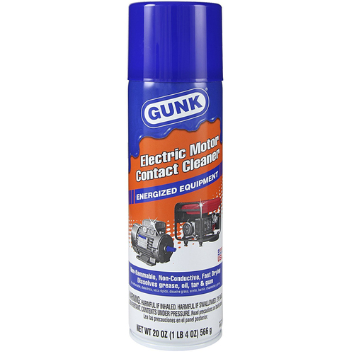 Electric Motor Contact Cleaner 20 oz Gunk