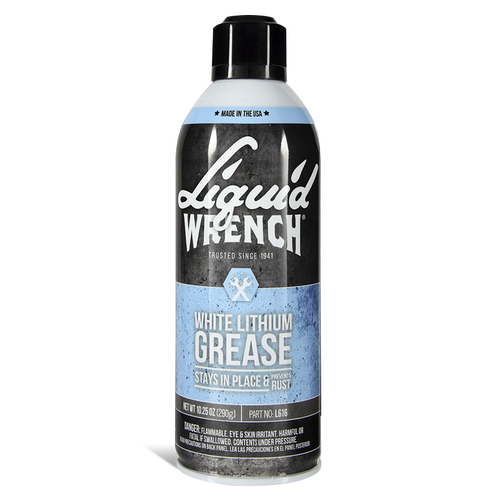 White lithium grease with cerflon 11 oz Liquid Wrench