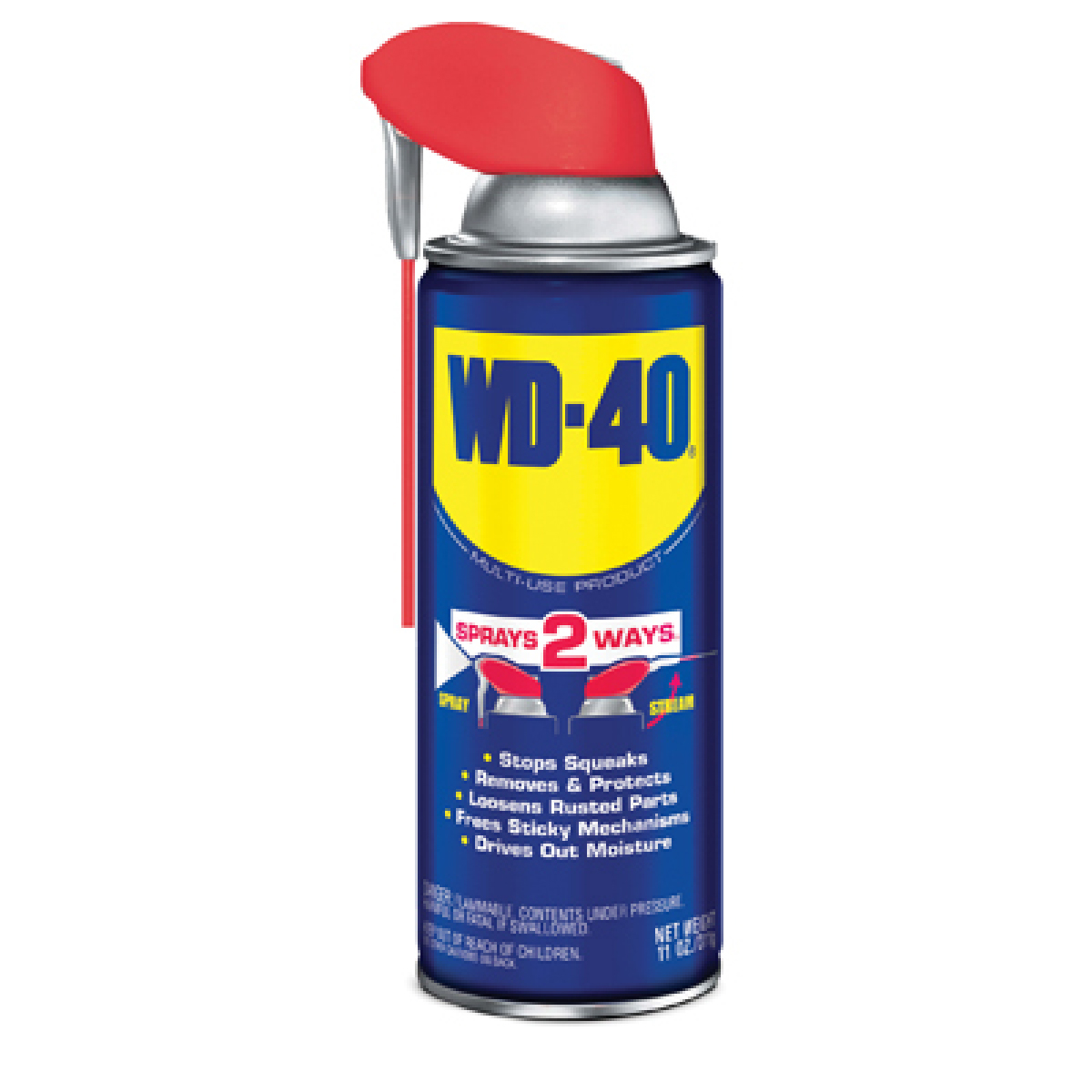 Multi-purpose lubricant (smart straw) 8 oz. Wd-40
