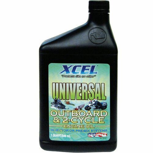 Motor Oil universal Outboard & 2 cycle 1 Qt Xcel