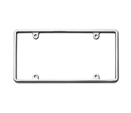 License Frames Chrome Slim Rim Hs