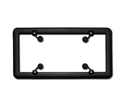 License Frames Plastic Black Nouveau Hs