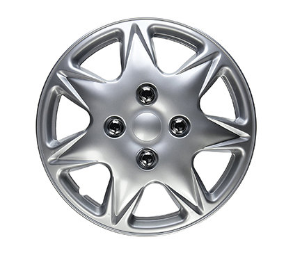 Wheel Covers Silver Lacquer C Hs