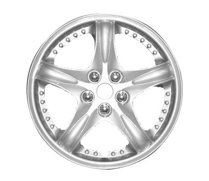 Wheel Covers Silver Lacquer J Hs
