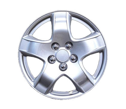 Wheel Covers Silver Lacquer N Hs