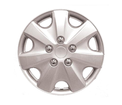 Wheel Covers Silver Lacquer R Hs