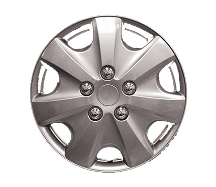 "Wheel Covers Silver Lacquer 15"" Hs"