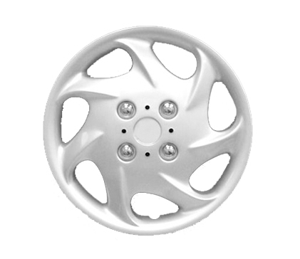 "Wheel Covers Silver Lacquer 15"" Hs."