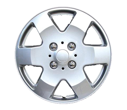 Wheel Covers Silver Lacquer, Hs