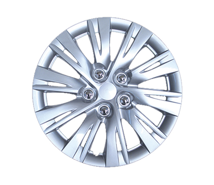 "Wheel Covers Silver Lacquer 16"" Hs"