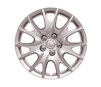 Wheel Covers Silver Lacquer Hs
