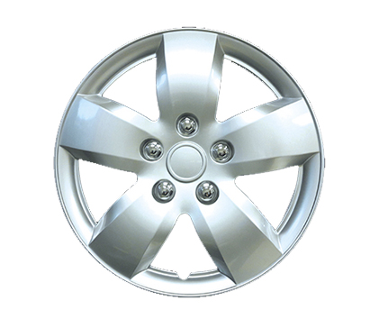 Wheel Covers, Silver Lacquer Hs