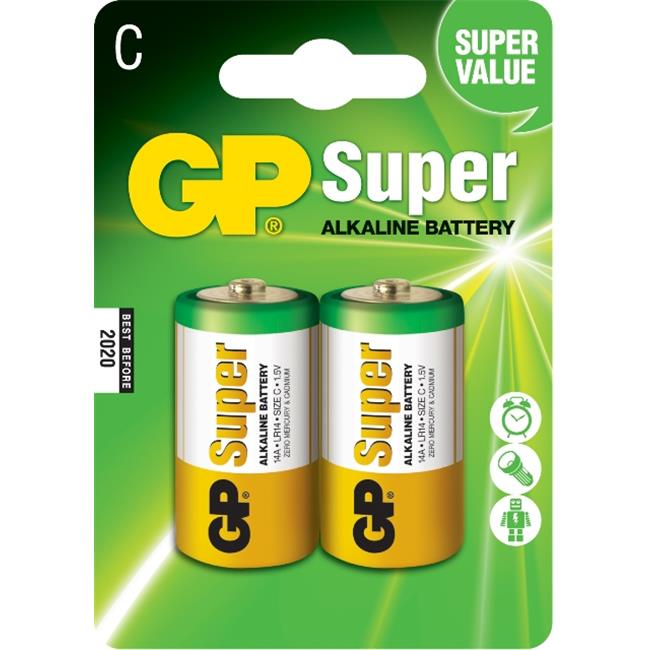 Battery LR14 C Super Alkaline Gp