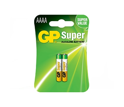 Battery LR8D425 AAAA Super Alkaline 2Pack Gp