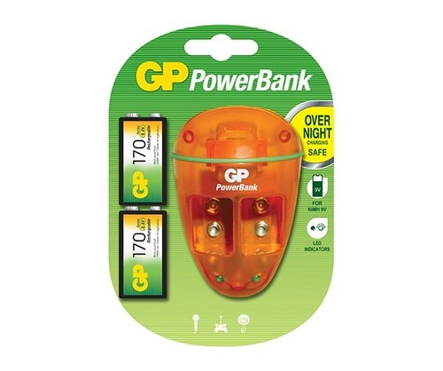PowerBank - PB09 Charger for 9V Batteries GP
