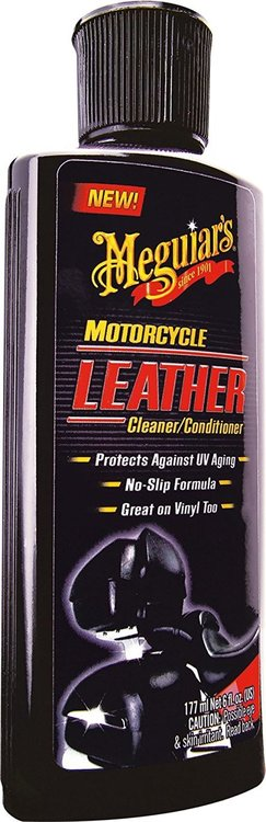 Cleaner & Conditioner Leather Motorcycle Meguiars
