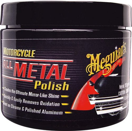 Polish All Metal Motorcycle Meguiars