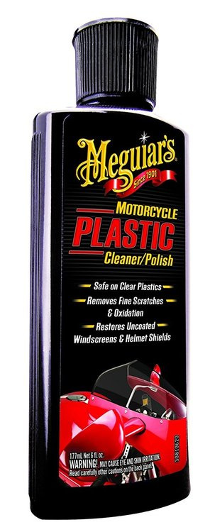 Cleaner & Polish Plastic Motorcycle Meguiars