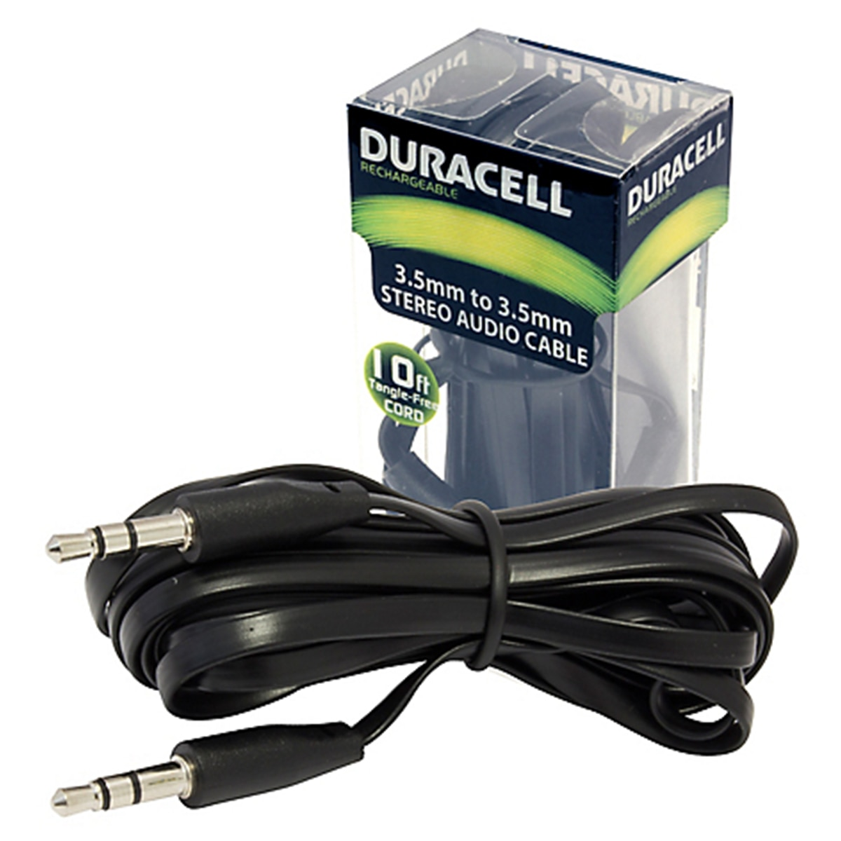 Stereo Audio Cable 3.5Mm & 10Ft Duracell