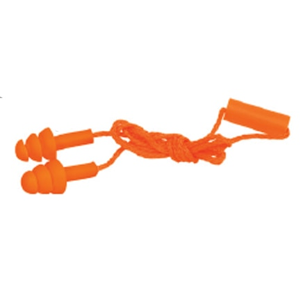 Tri-Flange Reusable Corded Earplugs Truper