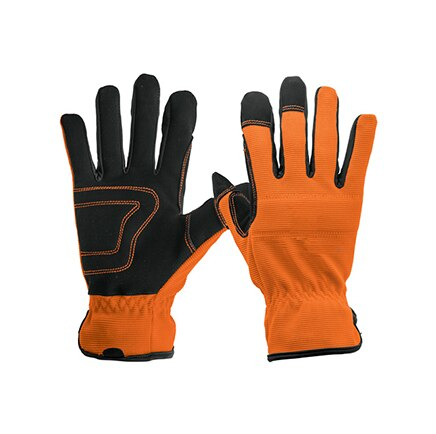 Reinforced Palm, Mechanics Gloves, Elastic Wrist Truper