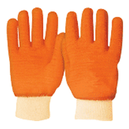 Rubber Coated Cotton Gloves, Knitted Cuff Truper