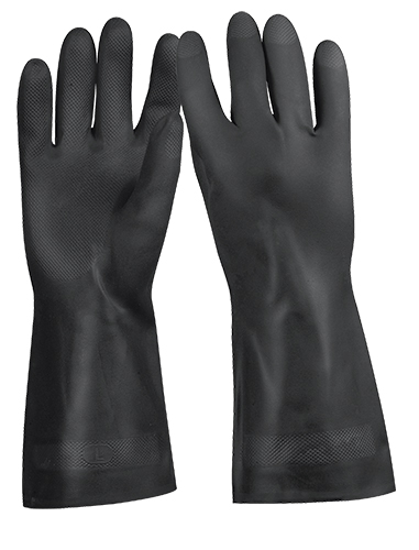 Non-Skid Rubber Gloves Truper