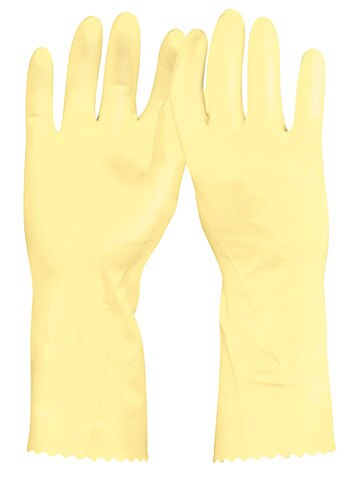 Latex Gloves, Long Cuff Truper