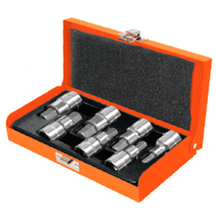 "7-Pc Hex Bit Socket 1/2"" Set, Standard JPH-1/2X7PH Truper"