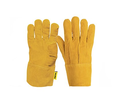 Welding Leather Gloves, Safety Cuff Pretul