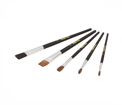 Paintbrush set 5 Pretul