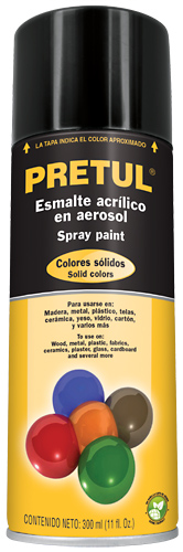 Spray paints 11-ounce  Pretul