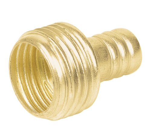 Brass garden hose connector,  Pretul