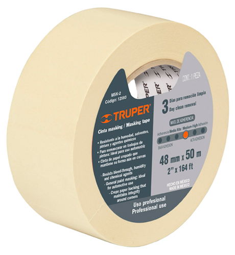 General Purpose Masking Tapes 164 ft Truper