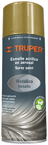 Metallic Spray Paints 13.5 - Ounce  Truper