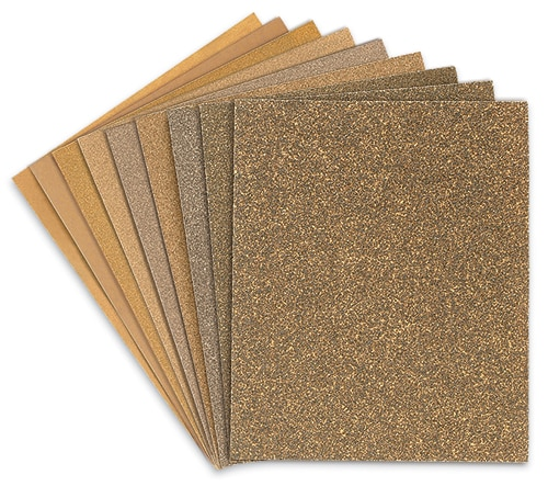 Bare Woods Sandpaper Cabinet Paper Backing Truper