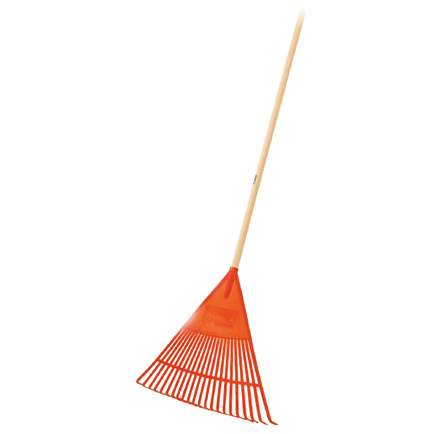 Flexible Poly Leaf Rake 22-Tine EP-22F Truper