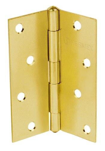 Brass Plated Steel Hinges Hermex
