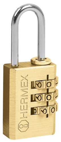 Solid Brass Combination Padlocks Hermex