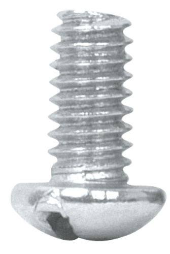"Slotted Machine Screws 1/4"" Fiero"