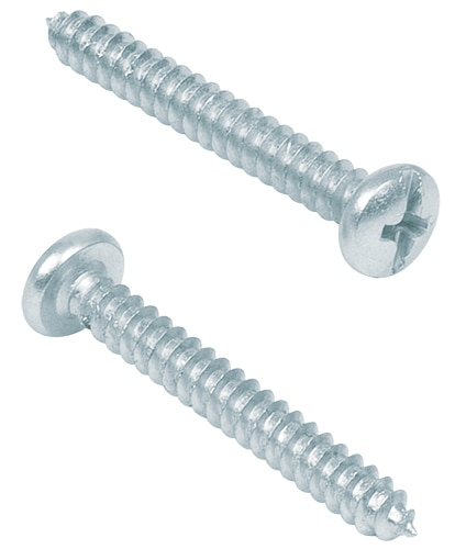 "Combination Phillips, 3/8"" Sheet Metal Screws N 8 Fiero"