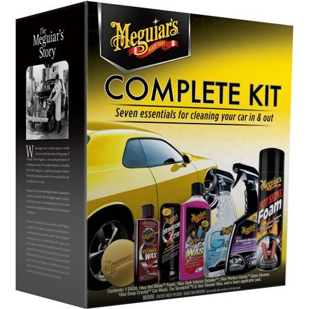 Complete Car Care Kit Meguiars