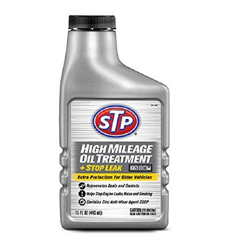 High Mileage Oil Treatment & Stop Leak 15 Fl. Oz. STP
